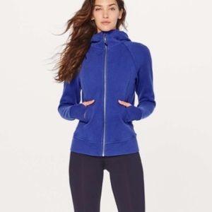 Lululemon Scuba Hoodie *Light Cotton Fleece Blue size 4
